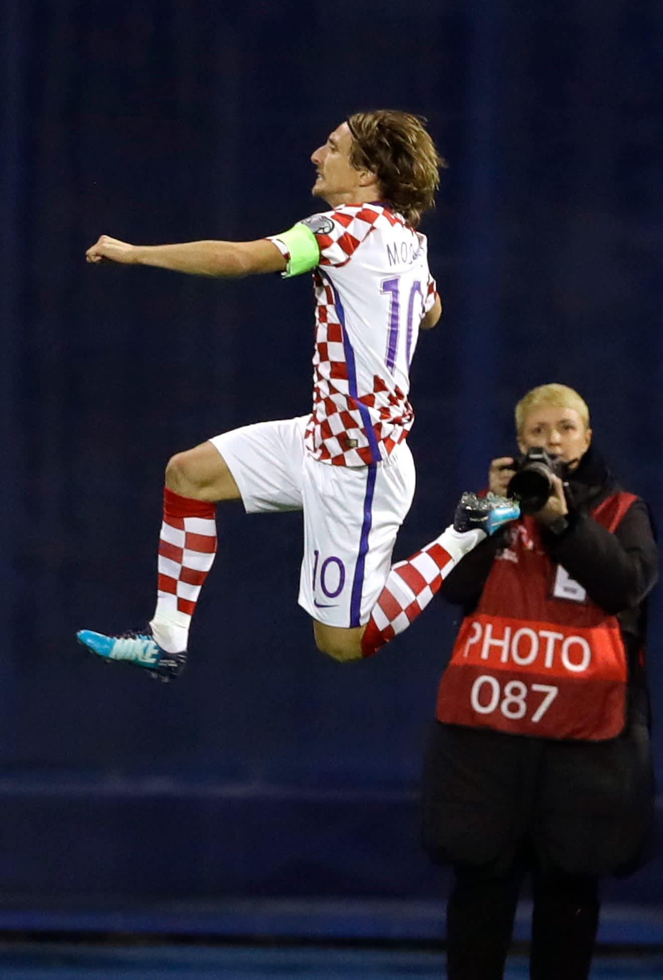 Krroatian Luka Modric