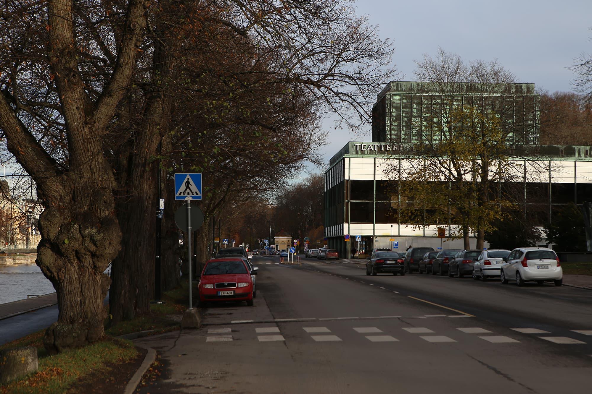Turun kaupunginteatterin julkisivu.