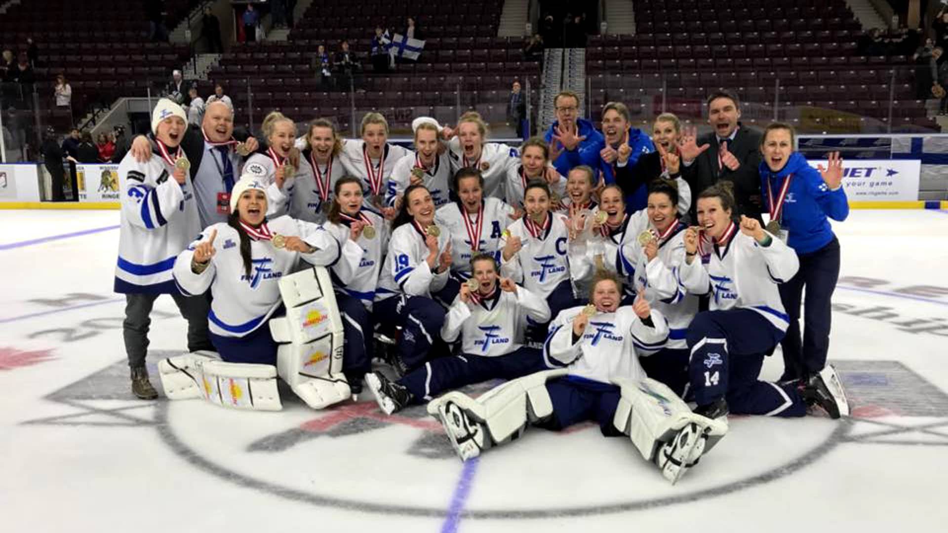 Suomi ringette MM-kulta