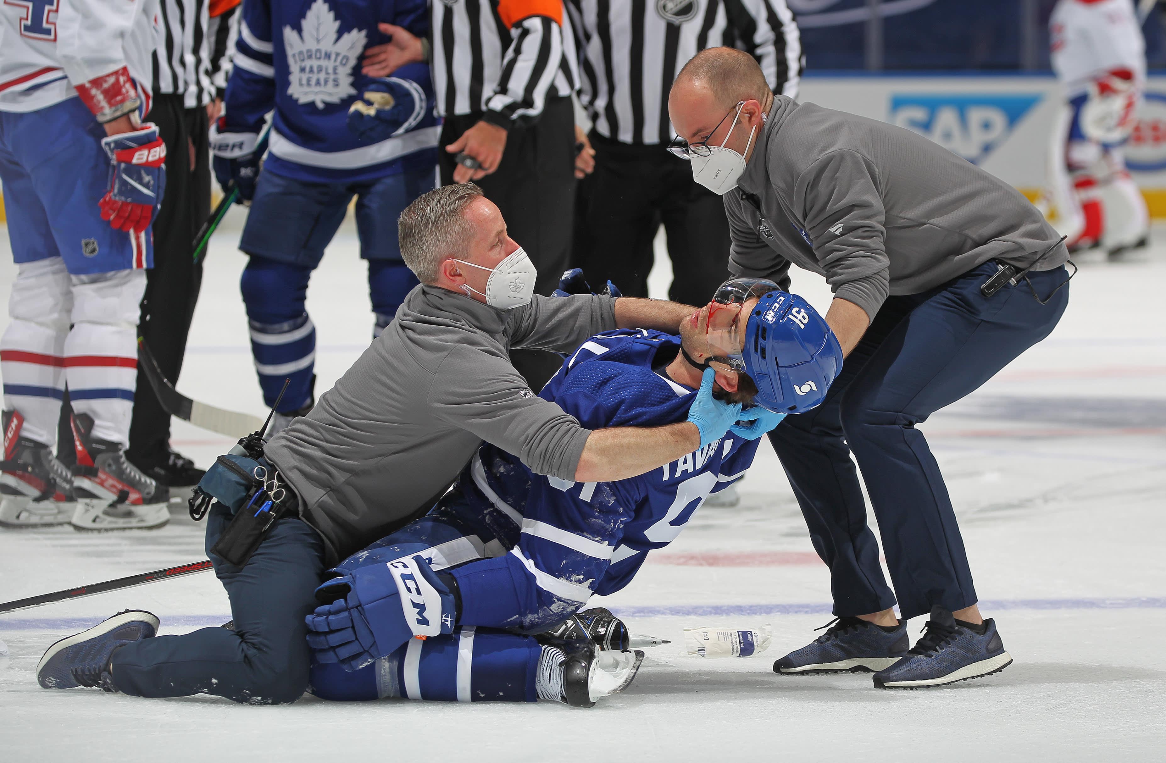 John Tavares loukkaantui