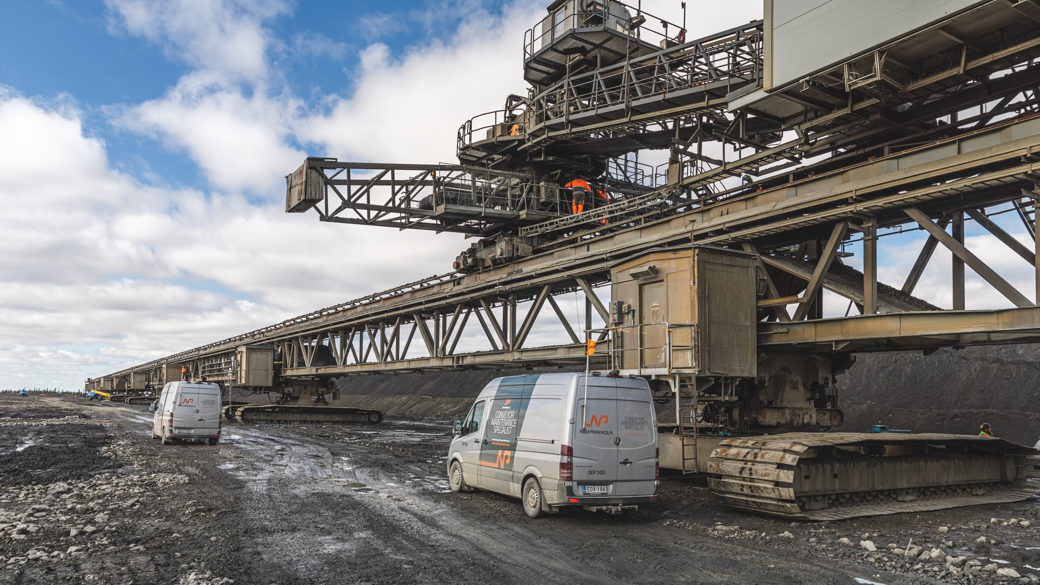 New Paakkolan läjitysjärjestelmä Terrafamen operoimalla kaivosalueella Sotkamossa