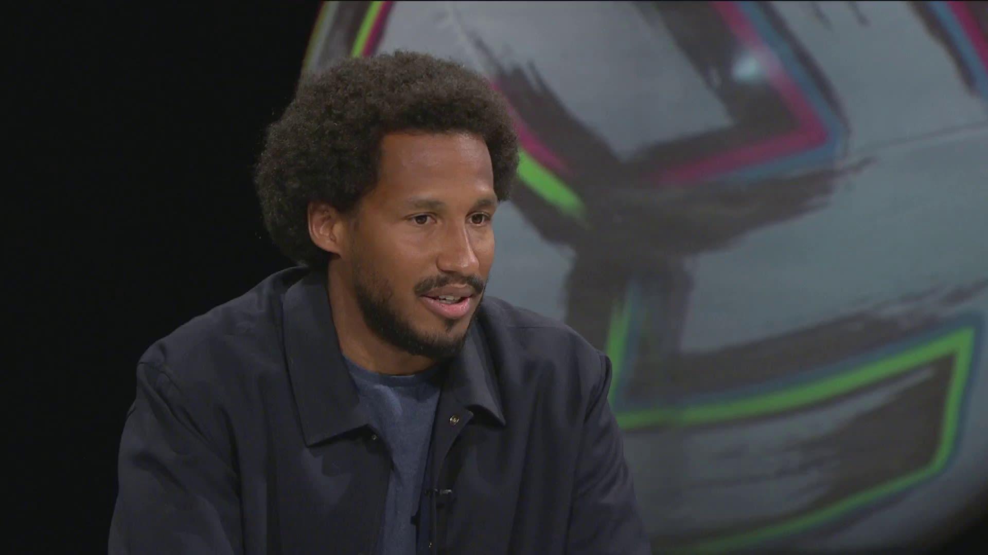 David Ramadingaye puhui rasismista EM-kisastudiossa.