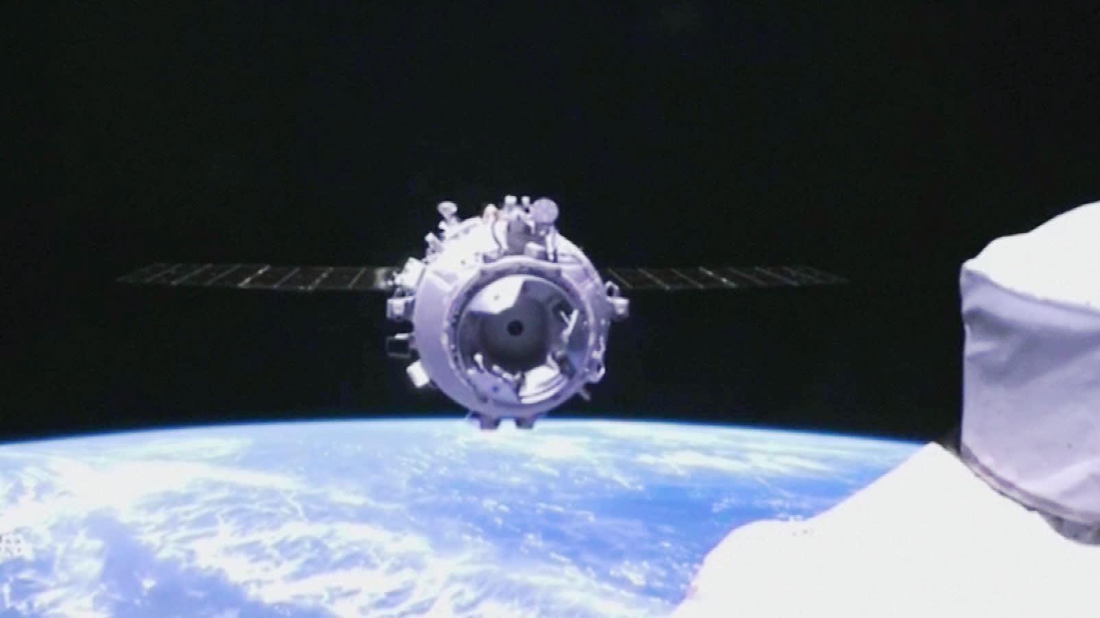 Kiinan alus telakoitui avaruusasemaan