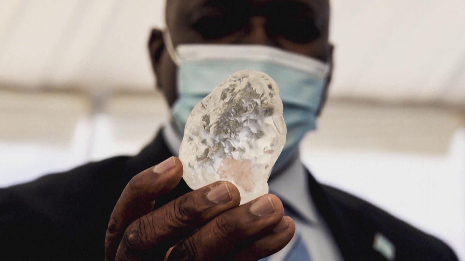 Jättitimantti löytyi Botswanasta