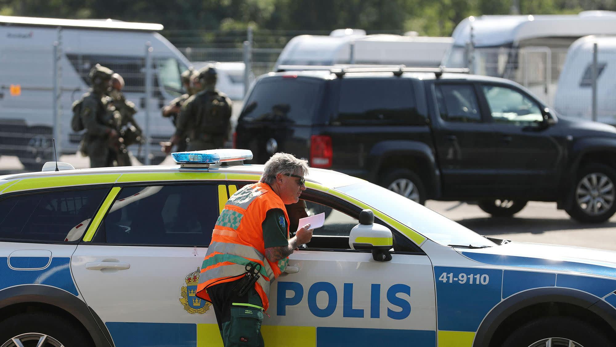 Panttivankitilanne Eskilstunan vankilassa
