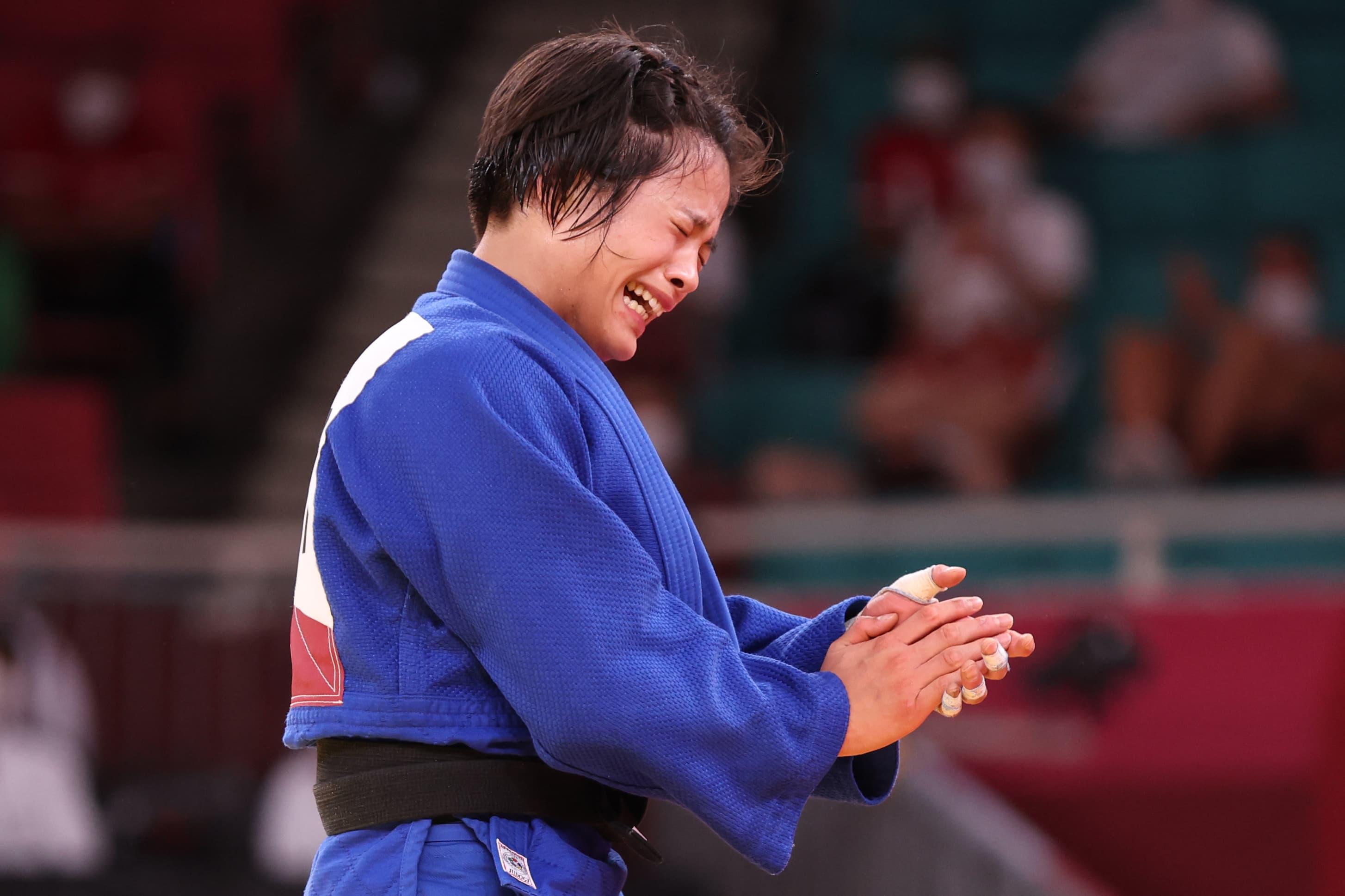 Judoka Uta Abe voitti naisten 52-kiloisten sarjan olympiakultaa.