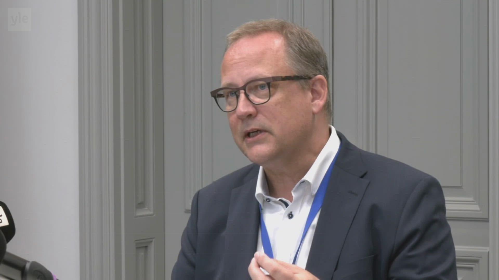 Kaupunginjohtaja Tomas Häyryn mukaan Vaasan suunnitelmat ovat globaalisstikin ainutlaatuiset