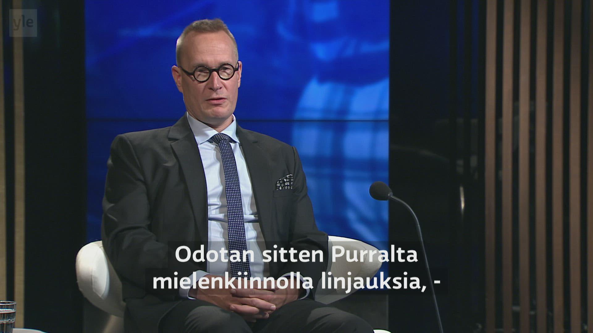 Markku Jokisipilä A-studiossa