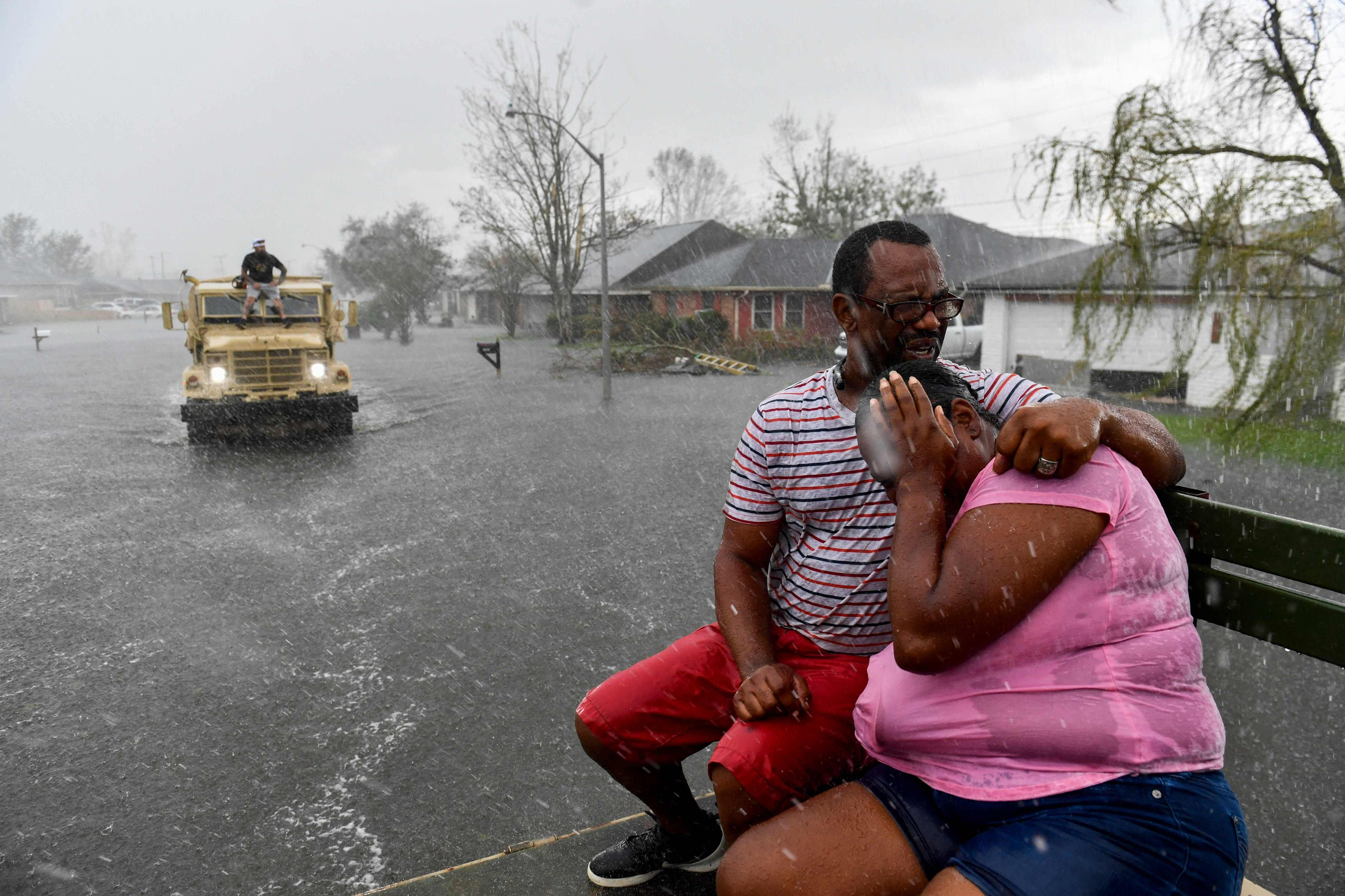 Hurrikaani Idan tuhoja Louisianassa