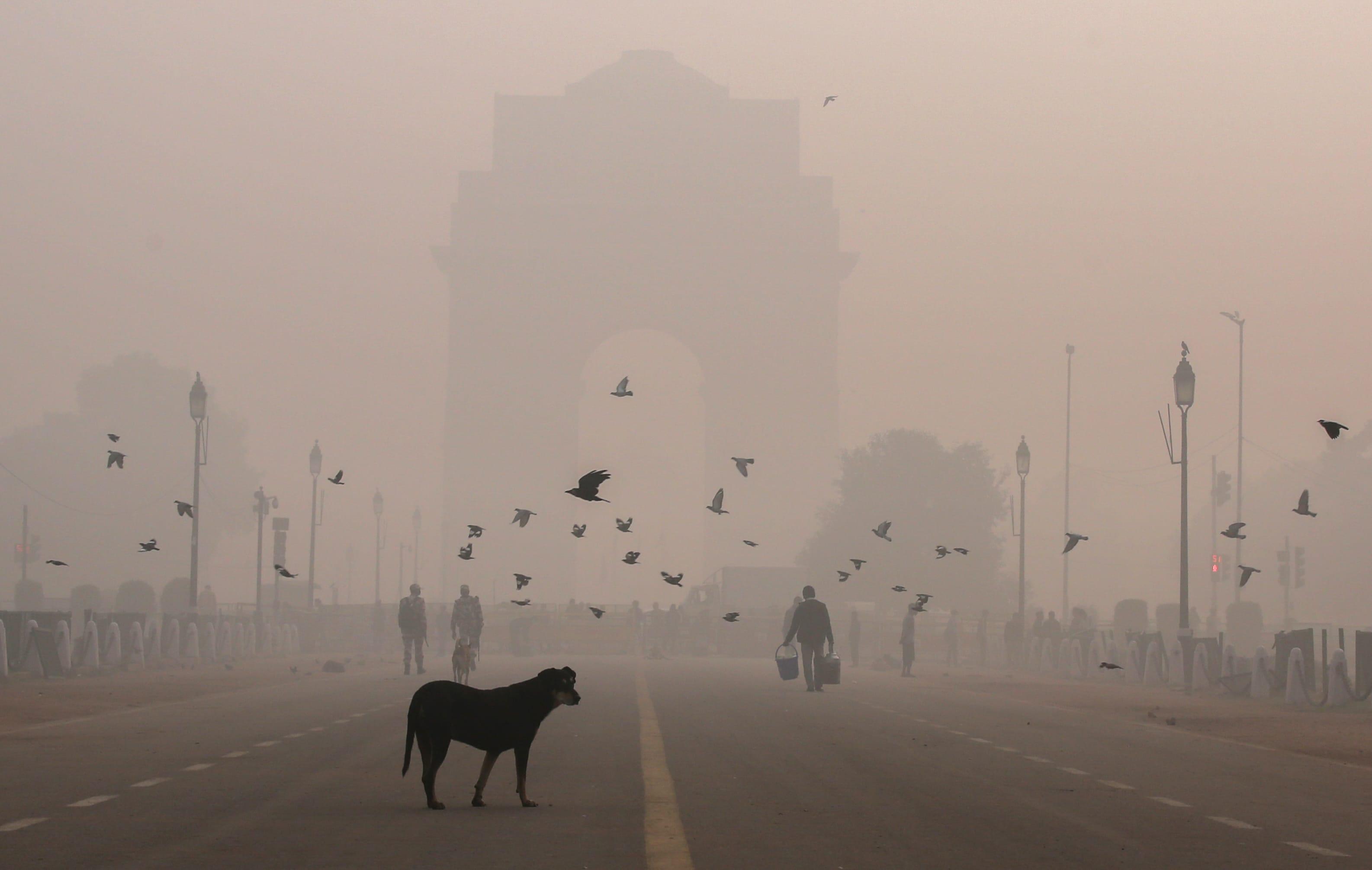 Delhi oli vuonna 2020 maailman saastunein pääkaupunki