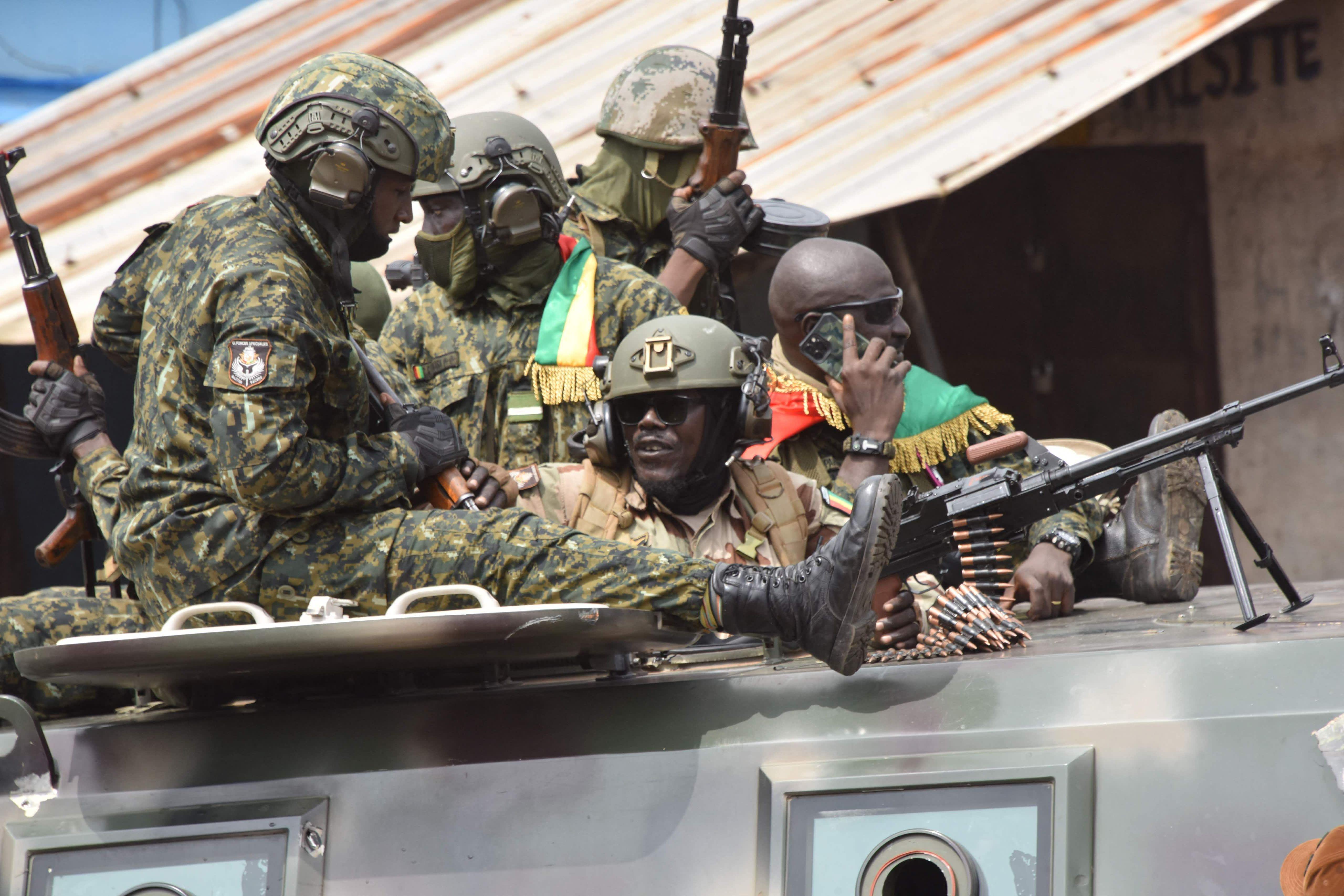 Guineassa tapahtui armeijan vallankaappaus