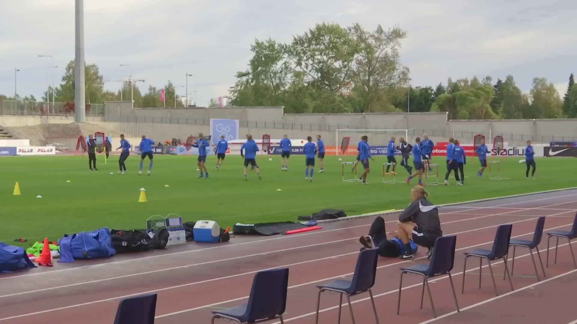 Päävalmentaja Juha Malinen ennakoi illan vastustaja Kroatian joukkuetta. Video: Paulus Markkula / Yle