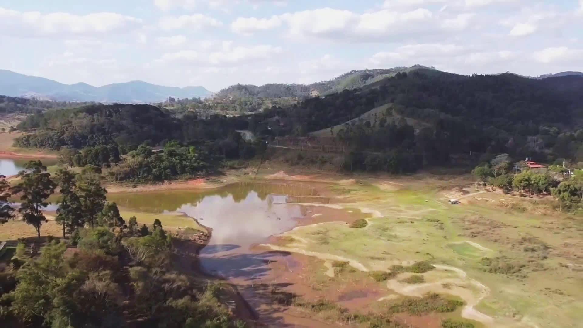 Brasiliaa riivaa kovin kuivuus liki vuosisataan