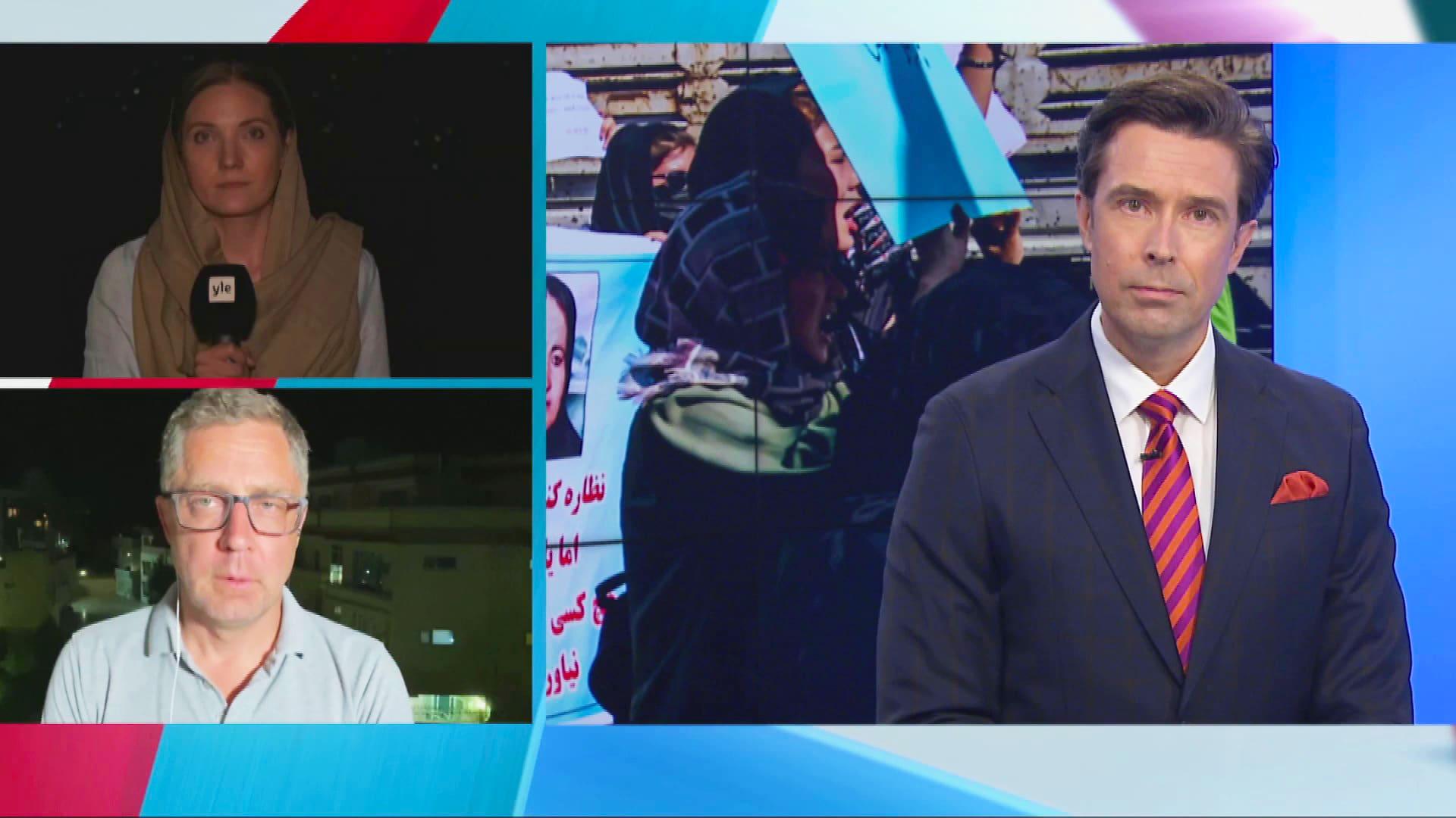 Yle Afganistanissa: Talibanilla täydellinen valta, Kabulissa kaduilla rauhallista