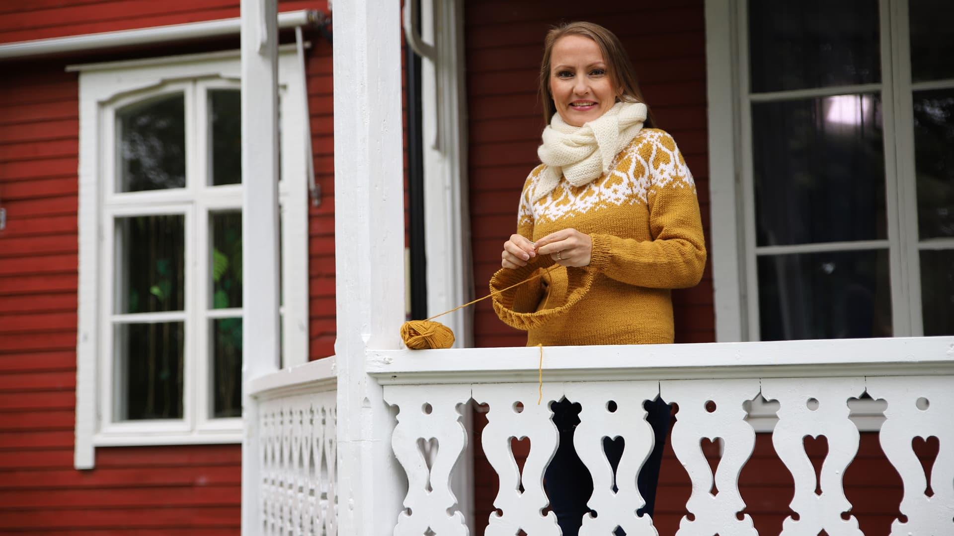 Suuren suosion saaneiden Strömsö-villapaitojen ohjeet saavat jatkoa - keskiviikkona julkaistaan lasten paitamallit