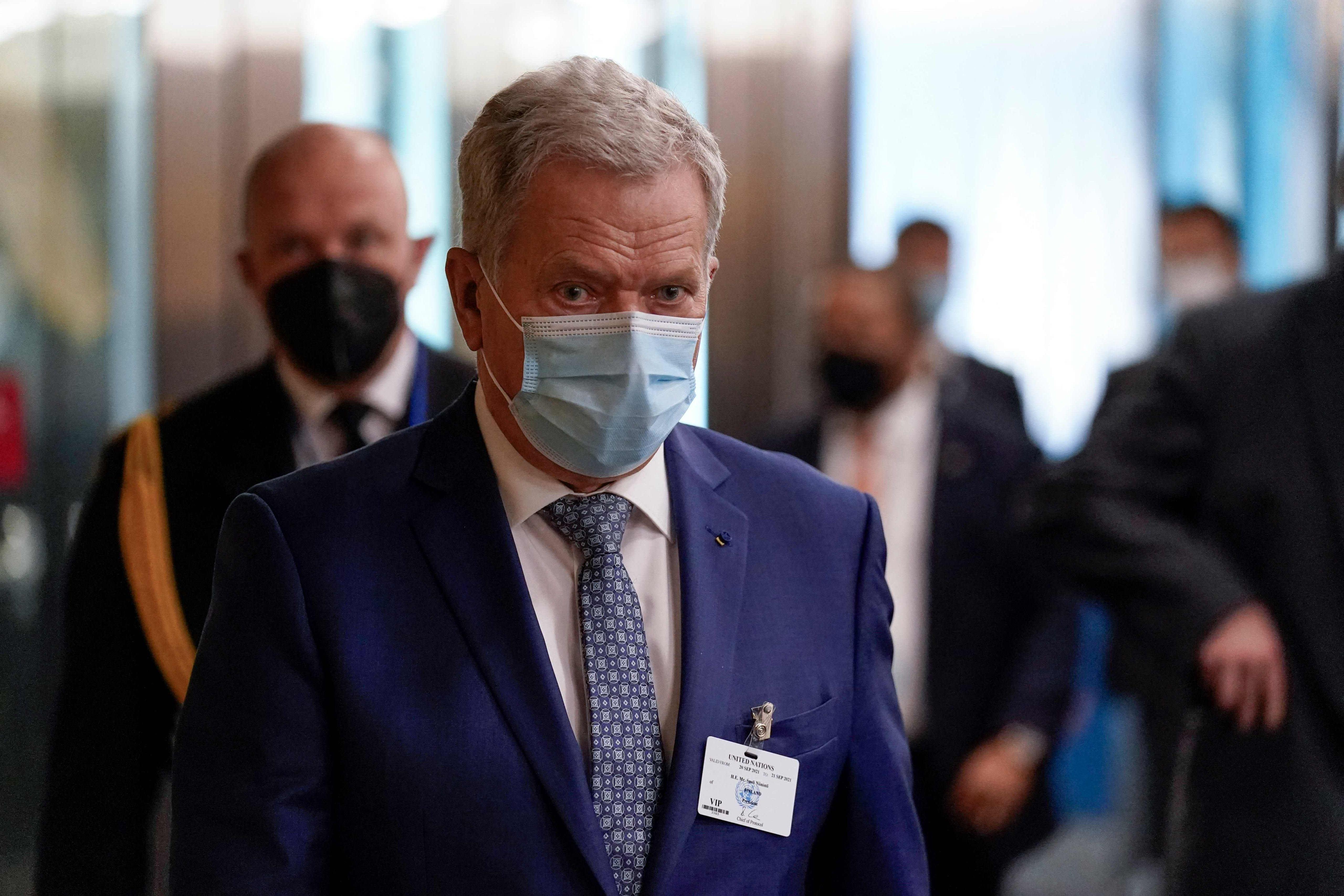 Presidentti Niinistö kommentoi YK:n kokouksen ilmastopuheiden antia
