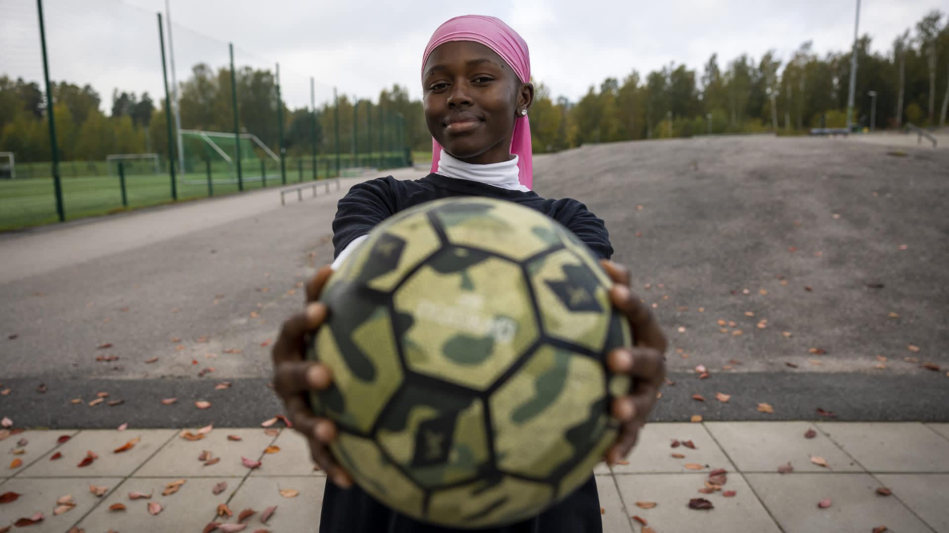 Lubna Omar innostui freestyle-futiksesta ja pomputteli tiensä Afrikan mestaruuskilpailujen kakkoseksi