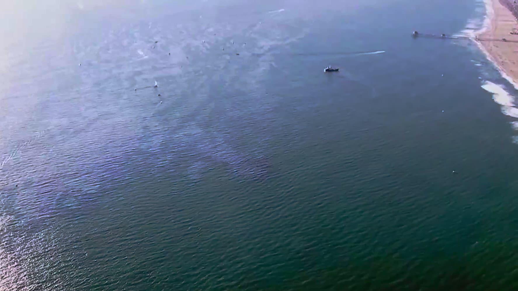 Kalifornian edustalla tapahtui suuri öljyvuoto