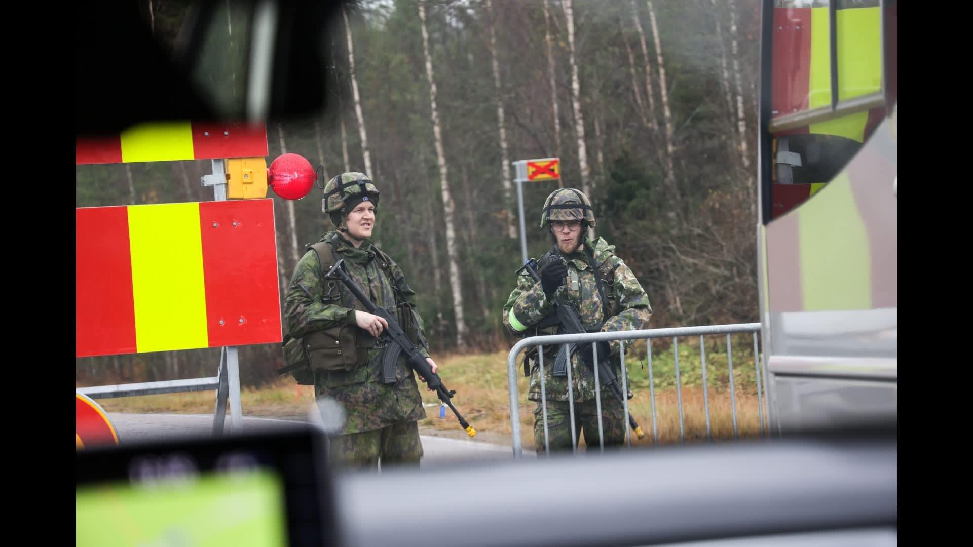 Ilmavoimien pääsotaharjoitus näkyy ja kuuluu Itä-Suomessa