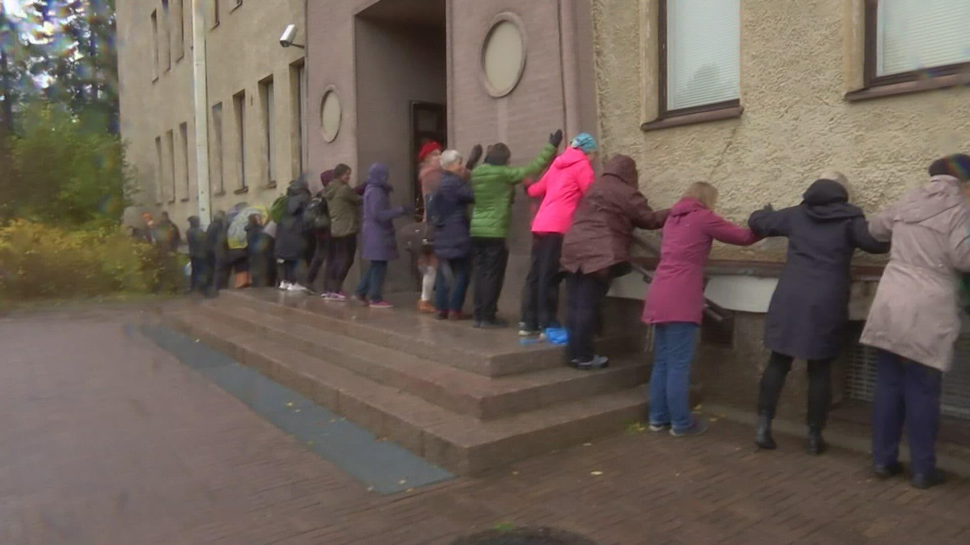 Oulussa halattiin perjantaina 90-vuotiasta museorakennus Ainolaa