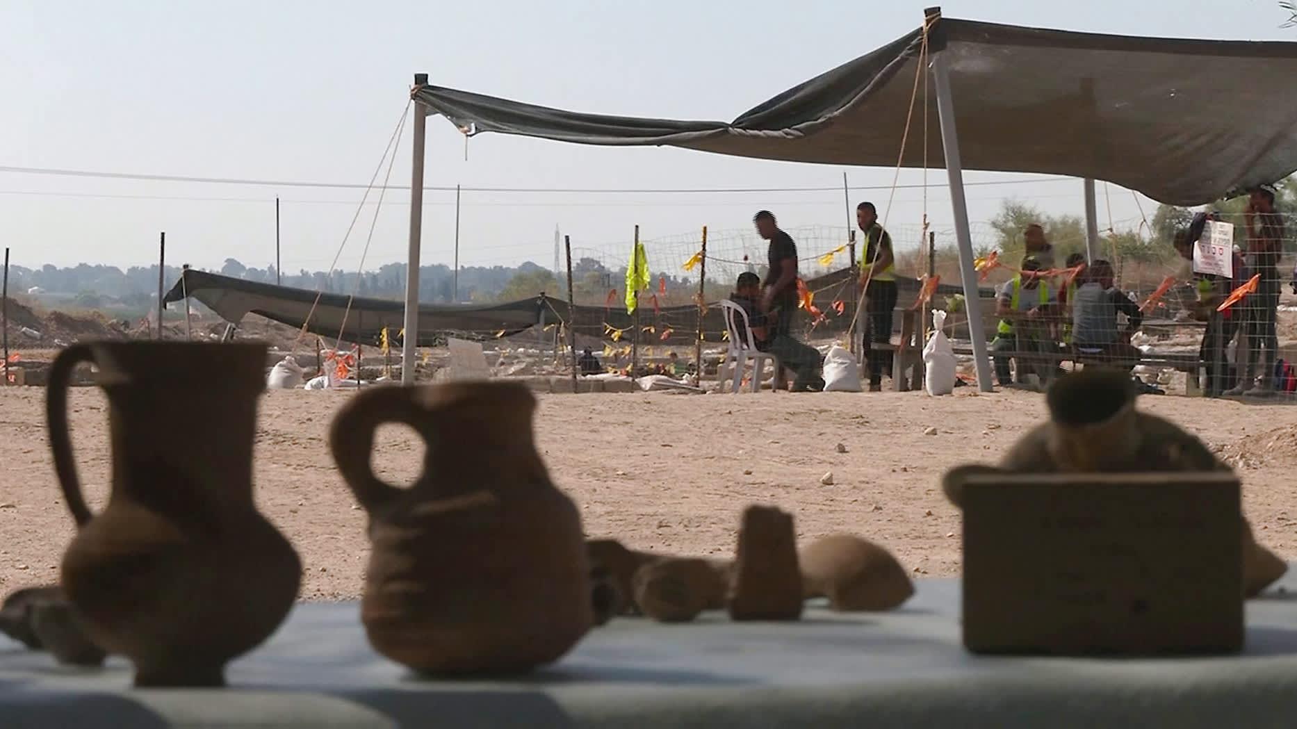 Ikivanha viinitehdas kaivettiin esiin Israelissa