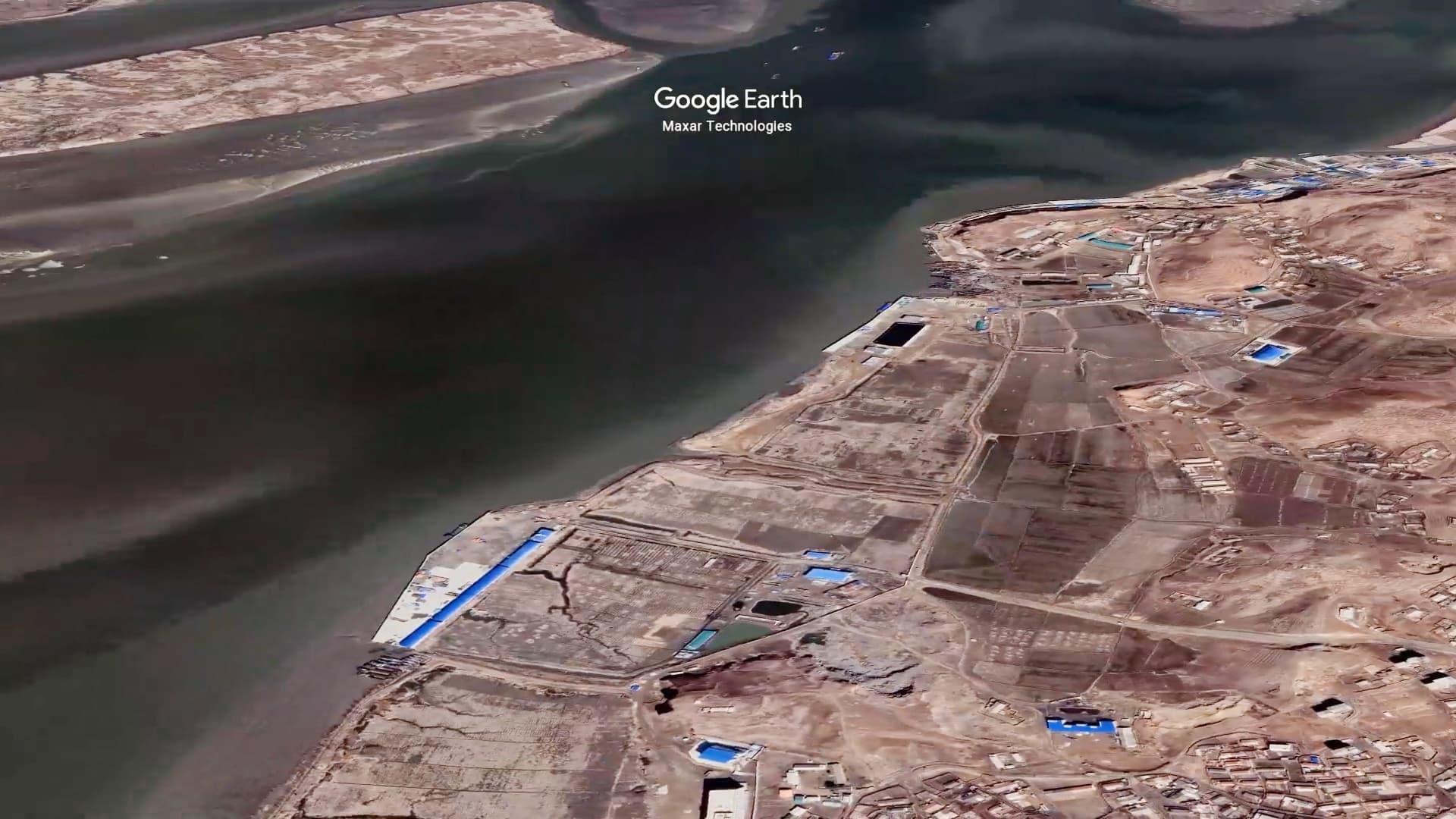 Katso satelliittikuvista, miten erakkovaltioon keplotellaan salaa apua Kiinasta