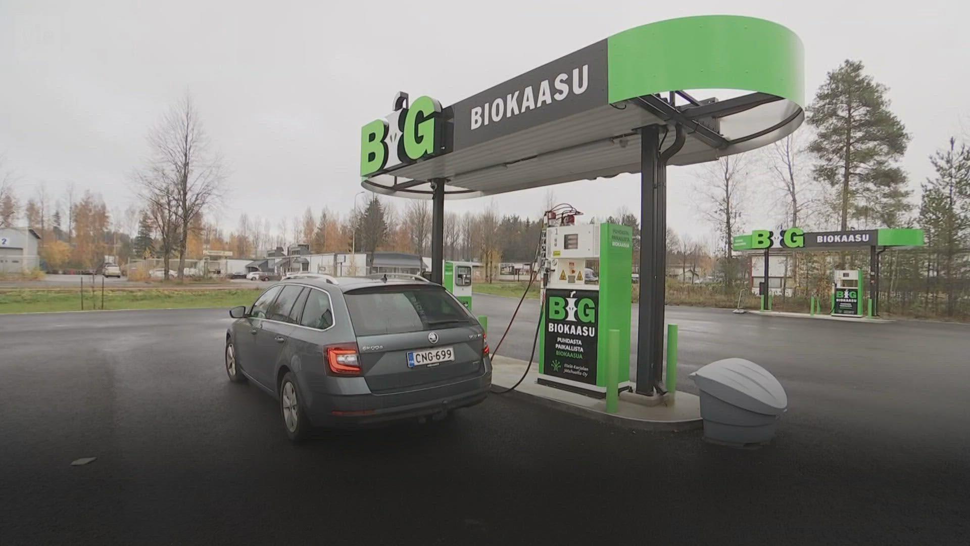 Biokaasu on Lappeenrannassa jo maakaasua halvempaa
