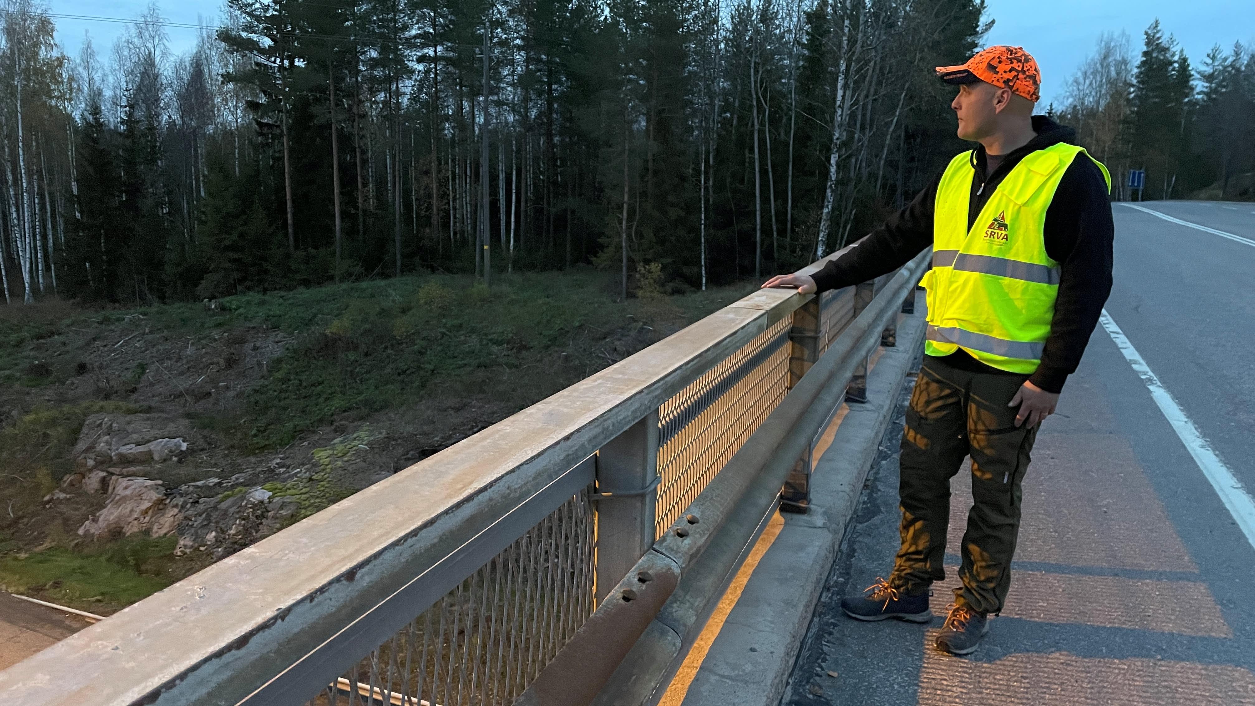 Kauan odotettu riista-aita nousee Helsingin ja Turun väliselle moottoritielle