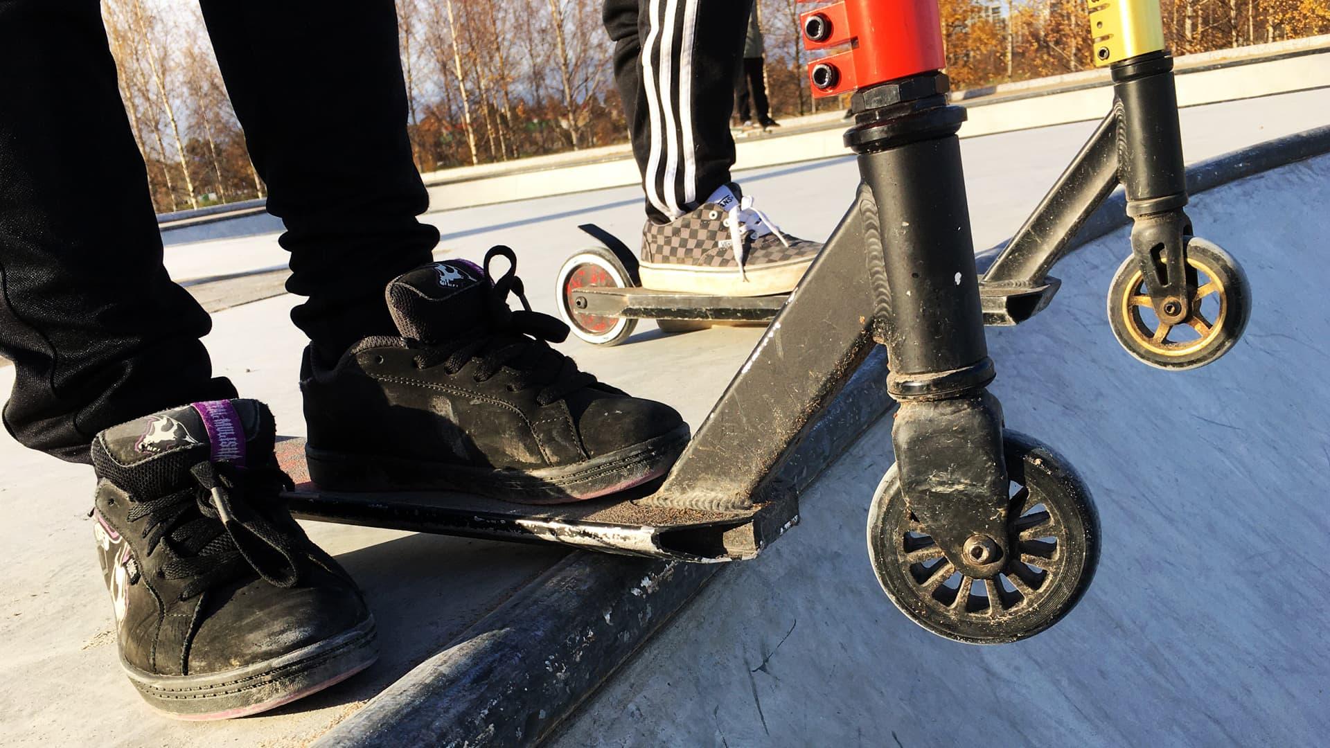 Odotettu skeittipuisto täyttää harrastajien toiveet Vaasassa