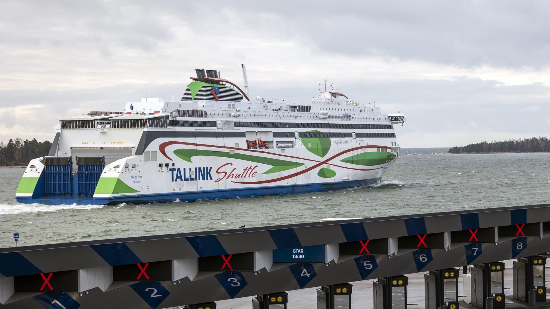 Suomesta pääsee edelleen laivalla Tallinnaan