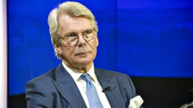Björn Wahlroos Ykkösaamussa 25. tammikuuta 2020.