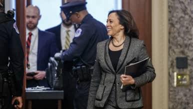 Kamala Harris, Washington tammmikuu 2020.