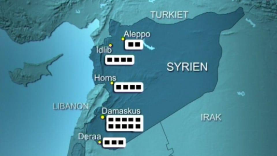 Mord och tortyr i syrien