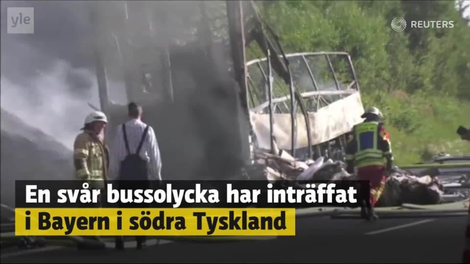 Svenska ungdomar i svar bussolycka
