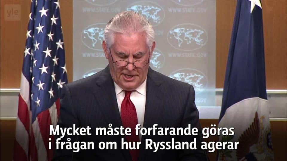 Ryssland varnar finland