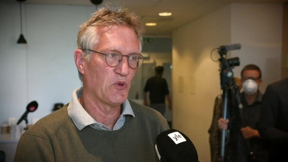 Tegnell Till Svenska Yle Det Sverige Har Gjort Ratt Ar Att Inte Stanga Skolorna Utrikes Svenska Yle Fi