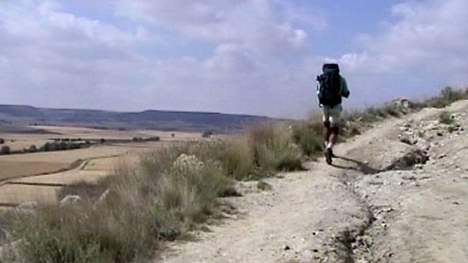 Pyhan Jaakobin Tie Vie Pyhiinvaeltajat Santiago De Compostelaan