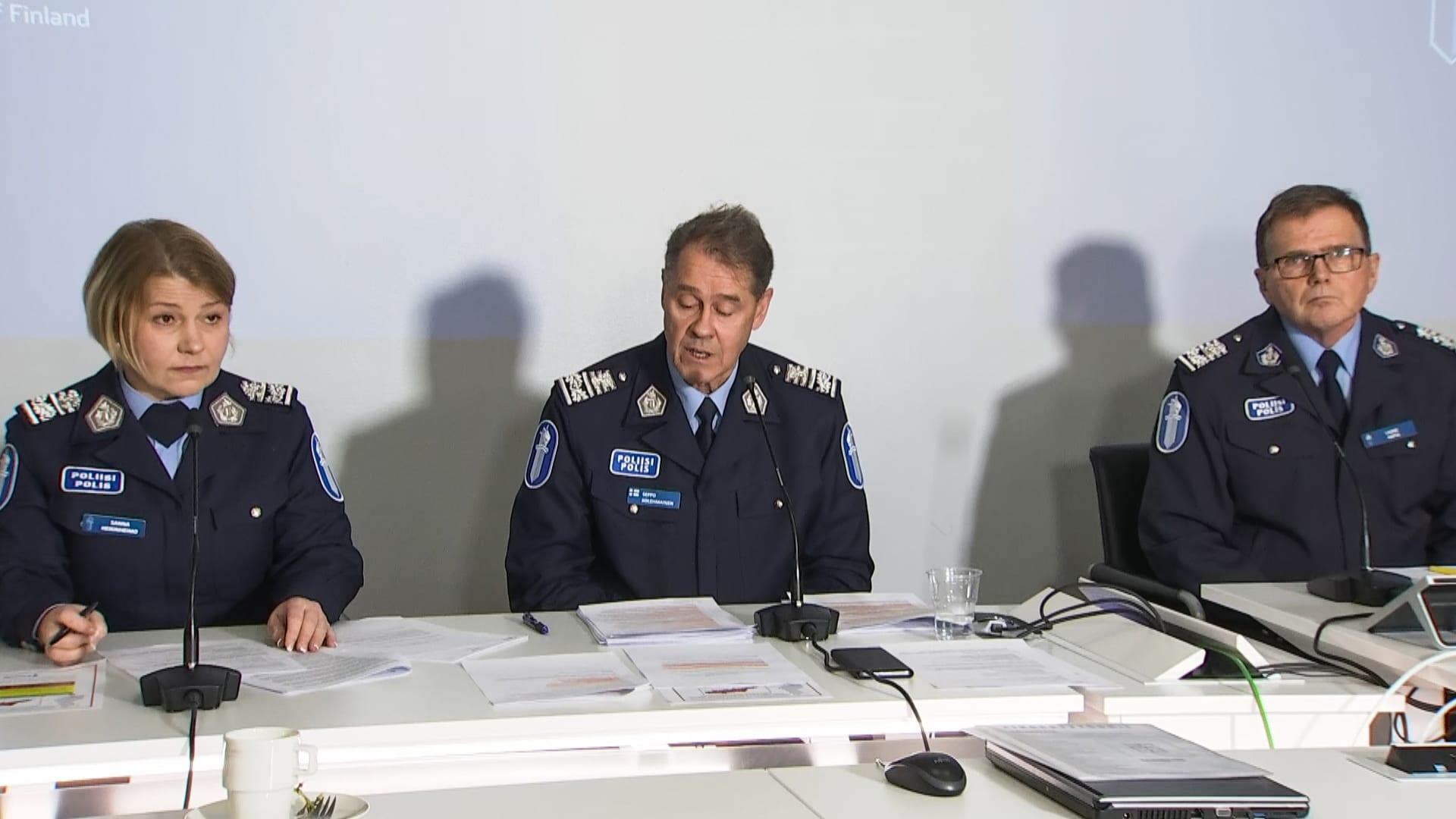 Poliisin Tiedotustilaisuus