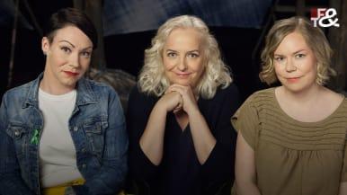 Jenna Mäkelä, Maarit Tastula ja Maria Heiskanen