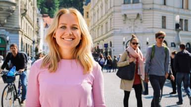 Kahdeksanosaisessa sarjassa kuuro Tanja Honkanen seikkailee Euroopan yhdeksässä maassa.