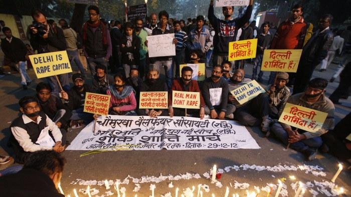 De domdes till doden for gruppvaldtakten i indien