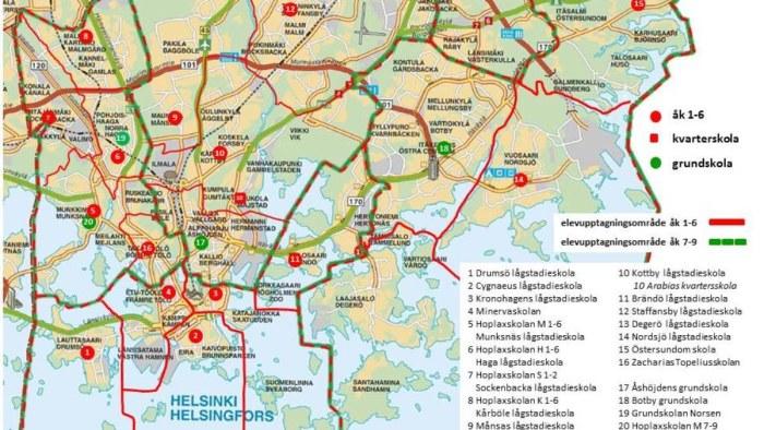 Forslag Hogstadiet Fran Ak 6 9 I Munksnas Huvudstadsregionen