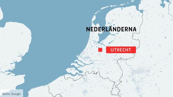 Tre Doda I Skottlossning I Nederlandska Utrecht Den Misstankta Ar Gripen Av Polis Utrikes Svenska Yle Fi