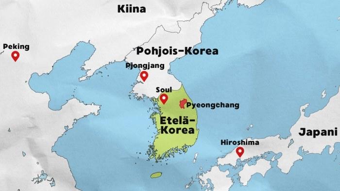 Etela Korean Luonto Olympiamaisemat Ovat Patikoijan Paratiisi