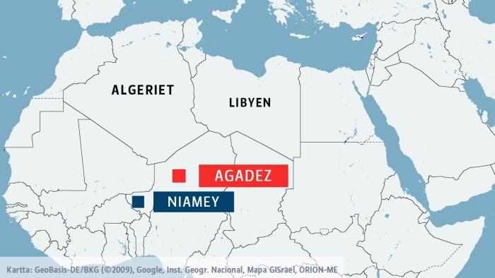 Svenskar pa vag till algeriet varnas