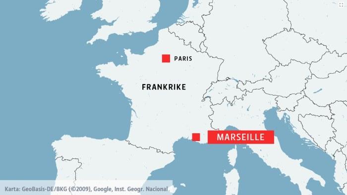 frankrike karta marseille Amerikanska kvinnor attackerades med syra i Marseille | Utrikes  frankrike karta marseille