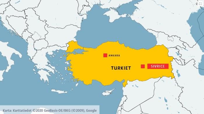 Jordbavning I Ostra Turkiet Over 20 Doda 1 000 Skadade
