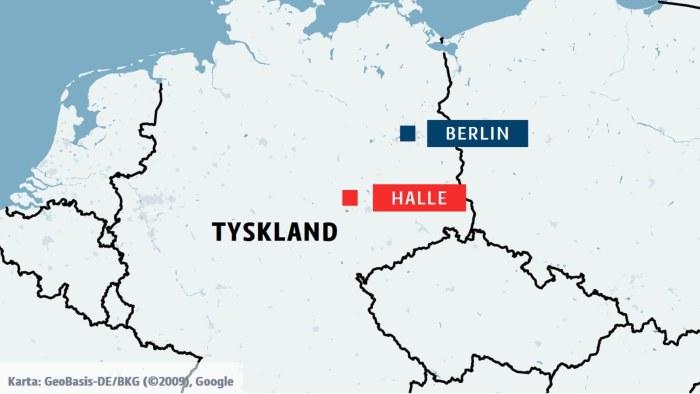 Minst Tva Doda I Antisemitisk Attack Utanfor Synagoga I Tyskland