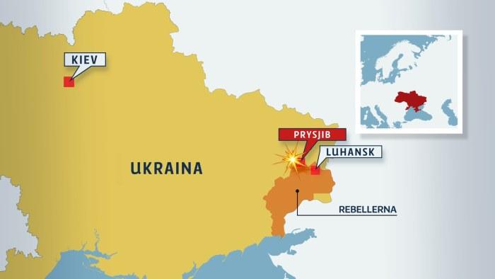Minst tre dodade i ukraina