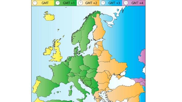 Karta Europa Tidszoner.Enkaten Om Sommartiden Talar Sitt Tydliga Sprak Over 80 Procent